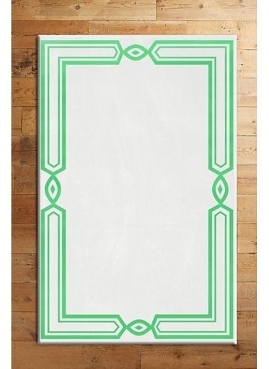 MarkaEv Emerald Halı Renkli